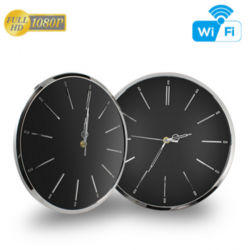 HD 1080P Wall Clock Wi-Fi...