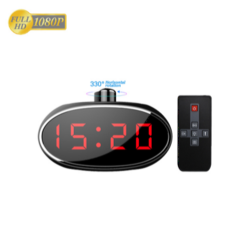 HD 1080P Rotatable Desk Clock DVR Camera