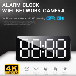 4K HD WiFi  Alarm clock...