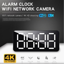4K HD WiFi  Alarm clock WiFi network