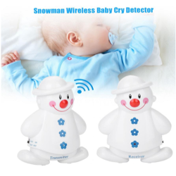 Snowman Wireless Baby Cry...
