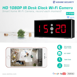 HD 1080P IR Desk Clock...