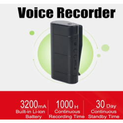 2400 Mah Voice Recorder...
