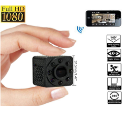 Mini WiFi Camera HD1080P...