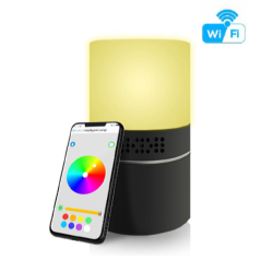 HD 1080P Desklamp Security Wi-Fi Camera