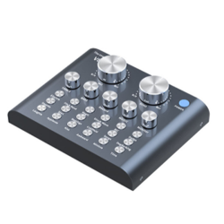 External USB Audio Mixer Live Sound Card
