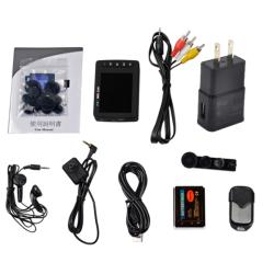 2.7 INCHES MINI PORTABLE MPEG-4 DVR Body worn wearable camera