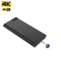 4K WIFI Powerbank Camera