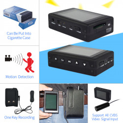 "Portable DVR Built in 2.4""..."