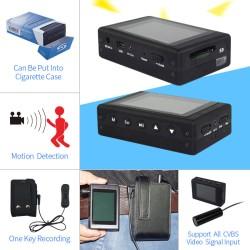 "Portable DVR Built in 2.4"" Screen D1 Video Recording Mobile DVR"