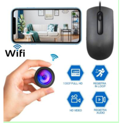 1080P Mouse WiFi IP P2P Hidden Camera