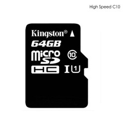 High Speed TF Card, Kingston 64GB, Speed C10