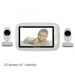 "7""Digital Baby Monitor,Two-way Talk"