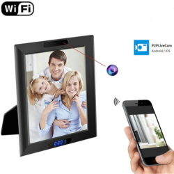 WIFI Clock Photo Frame Camera