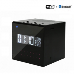 Bluetooth Speaker Clock WIFI Camera