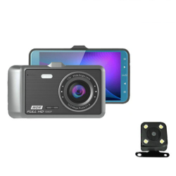Dual Camera Video Recorder, 4.0inch LCD