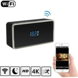 4K WIFI Clock Camera