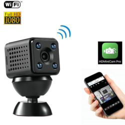 4K WIFI Mini Camera, Video 4K/2K/1080P