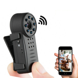 Clip WIFI Camera,HD Video1080P