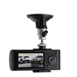 GPS Car Video Recorder, Dual Camera