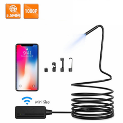 WIFI Endoscope Camera, Mini...