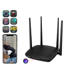 4K WIFI Router Camera, HD 4K/2K