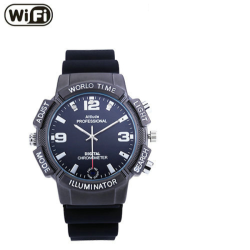 4K WIFI Watch Camera, WIFI/P2P/IP