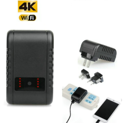 4K WIFI Charger Camera, HD...
