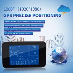 WIFI Weather Clock Camera,HD1080P