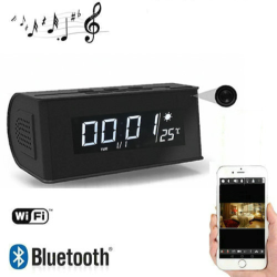 Bluetooth Speaker WIFI Clock Camera