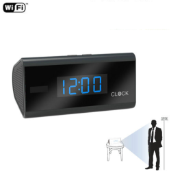 WIFI Clock Camera, PIR Sensor