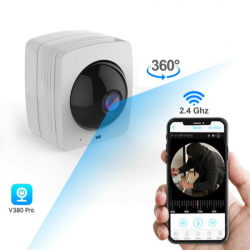 WIFI Security Camera, 360°fisheye