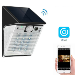 Solar WIFI PIR Light Camera