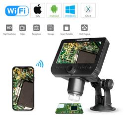 WIFI Microscope Camera, 4.3inch LCD