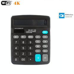 4K WIFI Calculator Camera
