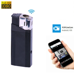 WIFI Lighter Camera, HD1080P