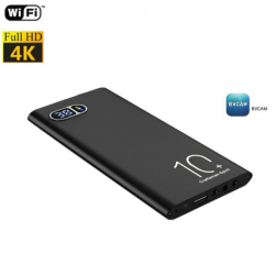 4K Powerbank WIFI Camera,