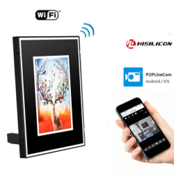 WIFI Photo Frame Camera, HD...