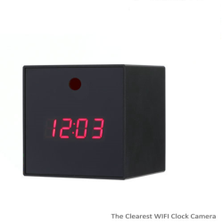 The Clearest WIFI Clock Camera