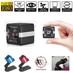 Mini Camera 1080P Sensor Night Vision Camcorder Motion DVR Micro Camera