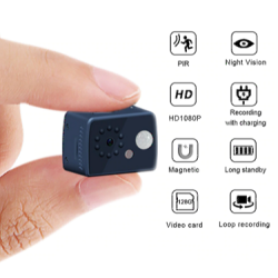 1080P HD Mini Camera Motion Detection PIR Camera Night Vision DVR