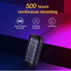 SPY 500hours micro Voice...